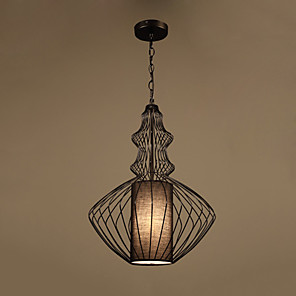 cheap Wall Sconces-1-Light LED® Geometrical Lantern Pendant Light Downlight Painted Finishes Metal Creative 110-120V 220-240V