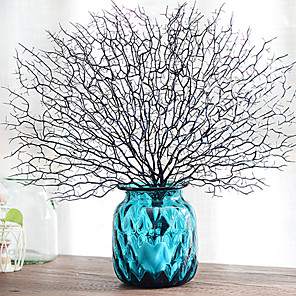 cheap Wall Stickers-Artificial Plants Plastic Traditional / Classic Bouquet Tabletop Flower Bouquet 1
