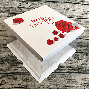 cheap Favor Holders-Cuboid Card Paper / Cardboard Paper Favor Holder with Sashes / Ribbons Favor Boxes / Gift Boxes - 1 Piece