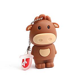 cheap USB Flash Drives-64GB PVC Zodiac Cattle USB Flash Drives USB 2.0 Creative For Car