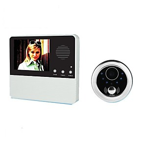 cheap Video Door Phone Systems-GW601D-2BH Wireless Built in out Speaker ≤3 inch Hands-free 240*3*320 Pixel One to One video doorphone