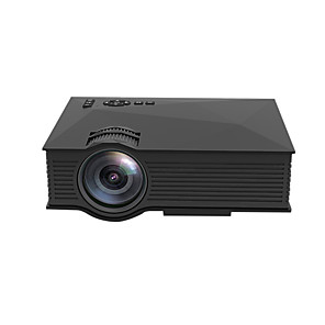 cheap Projectors-UNIC UC68H Wired and Wireless WIFI Projector 110 ANSI Lumens