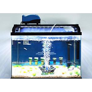 cheap Aquarium & Fish Accessories-Aquarium Fish Tank Air Pump Vacuum Cleaner Portable Mini Low Noise Plastic 1 110-220 V