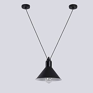 cheap Indoor Wall Lights-1-Light 22 cm New Design Pendant Light Metal Painted Finishes Contemporary 110-120V / 220-240V