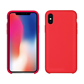 cheap iPad case-Case For Apple iPhone XS / iPhone XR / iPhone XS Max Ultra-thin / Frosted Back Cover Solid Colored Soft TPU