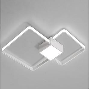 cheap Circle Design-1-Light 45 cm Eye Protection Flush Mount Lights Geometrical Chic & Modern 220-240V / FCC