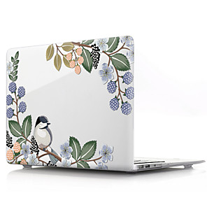 "cheap Mac Accessories-MacBook Case Flower PVC(PolyVinyl Chloride) for MacBook Air 13-inch / New MacBook Pro 15-inch / New MacBook Air 13"" 2018"