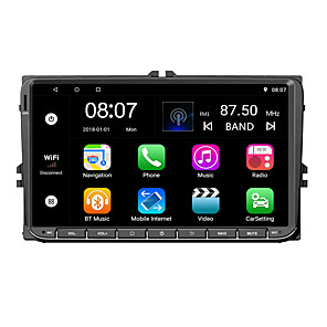 cheap Car DVD Players-Factory OEM YYD-9020G 9 inch 2 DIN Android 7.1 In-Dash Car DVD Player Quad Core for Volkswagen RCA / Audio / GPS Support MOV / VOB / RMVB MP3 / WMA / WAV JPEG / GIF / BMP