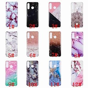cheap Huawei Case-Case For Huawei Huawei P20 / Huawei P20 Pro / Huawei P20 lite IMD / Pattern Back Cover Marble Soft TPU