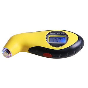 cheap Motorcycle Helmet Headsets-High-precision Car Tire Pressure Gauge Handheld Highly accurate Electronic Digital Tire Pressure Monitoring Meter
