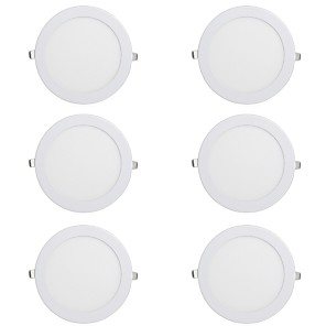 cheap LED Recessed Lights-6pcs 15 W 1150 lm 60 LED Beads Easy Install Recessed LED Downlights Warm White Cold White 220-240 V Ceiling Commercial Home / Office / CE Certified / 170