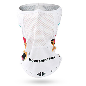 cheap Protective Gear-Mountainpeak Balaclava Patchwork Breathable Bike / Cycling Sky Blue+White Pink Green for Men's Women's Adults' Road Bike Outdoor Exercise Recreational Cycling Patchwork 1pc / Road Bike Cycling