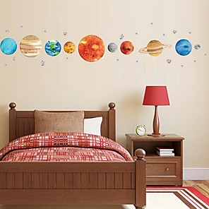 cheap Wall Stickers-Shapes Wall Stickers Plane Wall Stickers Decorative Wall Stickers, PVC Home Decoration Wall Decal Wall Decoration 1 set