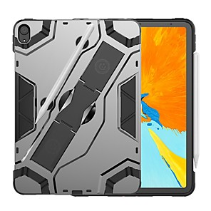 cheap iPad case-Case For Apple iPad Pro 11'' Shockproof / with Stand Back Cover Armor Hard PC