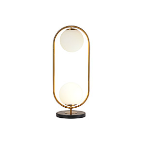 cheap Table Lamps-Table Lamp Contemporary Artistic For Living Room Bedroom Metal 110-120V 220-240V Gold
