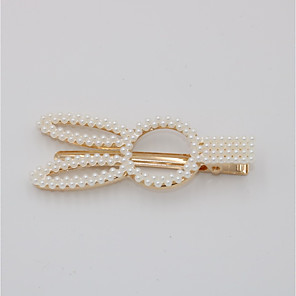 cheap Hair Jewelry-Women's Party Active Cute Imitation Pearl Alloy Solid Colored