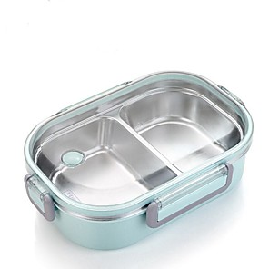 cheap Lunch Boxes & Bags-Japanese Portable Lunch Box For Kids School Stainless Steel Bento Box Kitchen