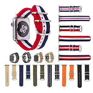 cheap Smartwatch Bands-Watch Band for Apple Watch Series 6 SE 5 4 3 2 1  Apple Sport Band Nylon Wrist Strap