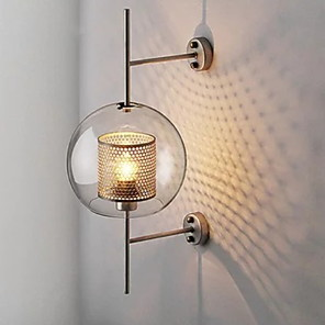 cheap Indoor Wall Lights-Cool Modern Contemporary Wall Lamps & Sconces Shops / Cafes Metal Wall Light 220-240V / E27