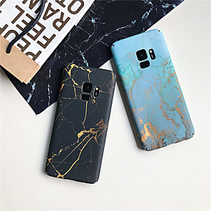 cheap Samsung Case-Case For Samsung Galaxy S9 / S9 Plus / S8 Plus Ultra-thin / Pattern Back Cover Marble Hard PC