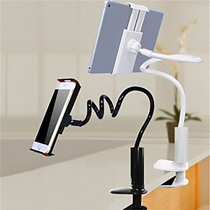 cheap Phone Mounts & Holders-Desk Mount Stand Holder Adjustable Stand 360° Rotation Adjustable 360°Rotation Silicone ABS Holder