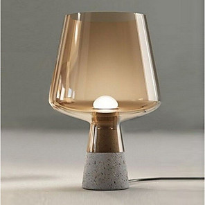 cheap Table Lamps-Desk Lamp New Design Modern Contemporary For Bedroom / Indoor Glass 220V