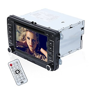cheap Car DVD Players-Factory OEM YYD-V7000 7 inch 2 DIN Windows CE 6.0 In-Dash Car DVD Player GPS / MP3 / Steering Wheel Control for Volkswagen RCA / Audio / AV out Support MPEG / AVI / WMV MP3 / WMA / WAV JPEG / PNG