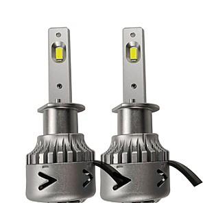 cheap Car Headlights-OTOLAMPARA 2pcs H1 Car Light Bulbs 55 W High Performance LED 6200 lm 2 LED Headlamps For Volkswagen / Ford Focus / Tiguan / Golf 2019