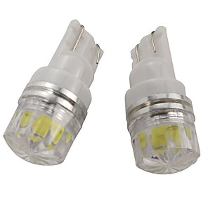 cheap License Plate Lights-OTOLAMPARA 2pcs W5W Car Light Bulbs 2 W COB 160 lm 1 LED License Plate Lights For Nissan / Kia / Hyundai Maxima / Juke / Altima 2019