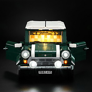 cheap USB Flash Drives-Novelty Led Light Kit For lego lepin the mini copper bricks model Compatible with 10242 and 21002 blocks set (not include the car)