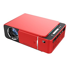cheap Projectors-HoDieng UNIC T6 Projector 3500 Lumens HD Portable LED 1280*720 Native Resolution 720P HD Video Projector USB VGA HDMI Beamer for Home Cinema Theater Support 1080P Android 7.1 WIFI 2.4G AirPlay DLNA