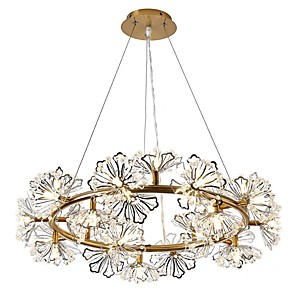 cheap Island Lights-20 Bulbs 70 cm Chandelier Metal Electroplated Traditional / Classic 110-120V / 220-240V