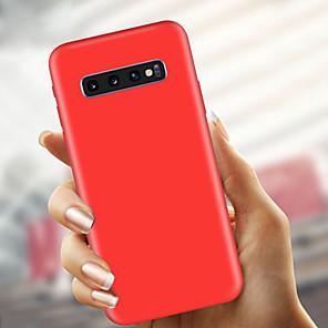 tanie Akcesoria Samsung-Kılıf Na Samsung Galaxy S9 / S9 Plus / S8 Plus Ultra cienkie / Matowa Osłona tylna Solidne kolory Miękka TPU