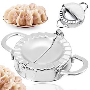 cheap novelty kitchen tools-Stainless Steel Dumpling Maker Wraper Dough Cutter Pie Ravioli Kitchen