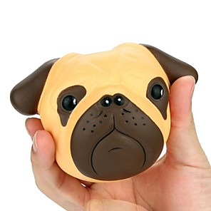 cheap Stress Relievers-Squishy Squishies Squishy Toy Squeeze Toy / Sensory Toy Jumbo Squishies Dog Poly urethane For Kid's Adults' Boys' Girls' Gift Party Favor