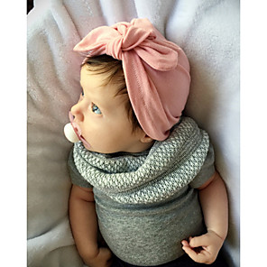 cheap Kids' Hats & Caps-Toddler Girls' Basic / Sweet Sun Flower Solid Colored Linen Hair Accessories Pink / Gray / Fuchsia One-Size