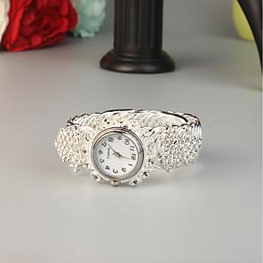 cheap Bracelet Watches-FEIS Women's Bracelet Watch Quartz Fashion Creative Silver Analog - Digital - Silver