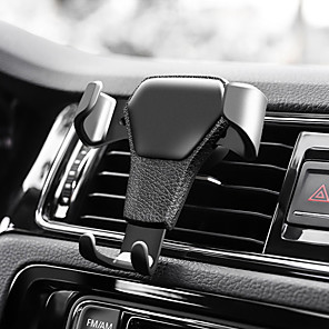 cheap Phone Mounts & Holders-Car Mount Stand Holder Air Outlet Grille Buckle Type ABS Holder