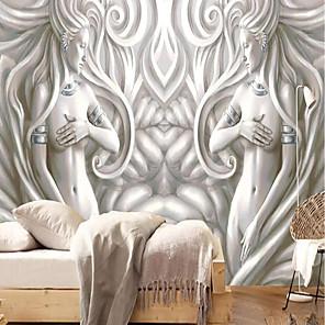 baratos Papel de Parede-papel de parede / Mural / Pano de parede Tela de pintura Revestimento de paredes - adesivo necessário Art Deco / 3D / Anjo