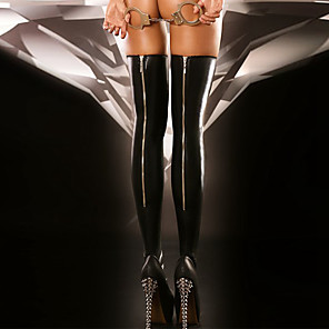 cheap Women's Boots-Women's Thin Super Sexy Stockings - Solid Colored 30D Black One-Size