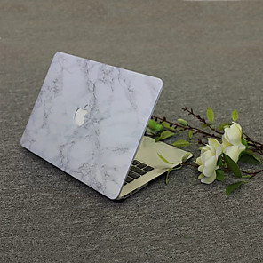 """cheap Mac Accessories-MacBook Case Marble PVC(PolyVinyl Chloride) for MacBook Air 13-inch / New MacBook Pro 13-inch / New MacBook Air 13"""" 2018"""