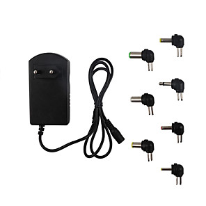 cheap Power Supply-Power Supply 12v AC to DC Power Adapter 3V 4.5V 6V 7.5V 9V 12V Adjustable EU US Plug for LED Lamps Strip Light 3A 30W