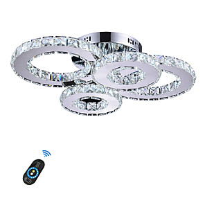 cheap Ceiling Lights-1-Light 31 cm Crystal / LED Flush Mount Lights Metal Others Modern Contemporary 110-120V / 220-240V