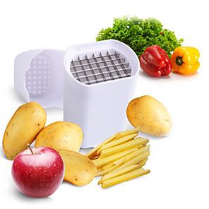 cheap Kitchen Utensils & Gadgets-Perfect Fries Potato Chip Natural French Fry Cutter Vegetable Fruit Slicer Potato Peeler