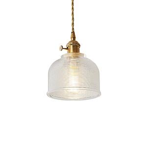 cheap Indoor Wall Lights-1-Light JSGYlights 15 cm Mini Style / New Design Pendant Light Metal Glass Mini Electroplated Contemporary / Retro Vintage 110-120V / 220-240V