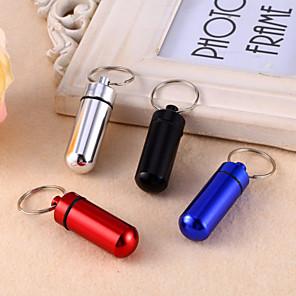 cheap Travel Comfort-Travel Medicine Box / Case Aluminium Alloy Waterproof / Portable Solid Colored