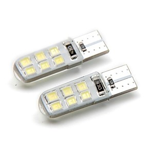 cheap Side Marker Lights-2pcs T10 Car Light Bulbs 2 W SMD 2835 120 lm 12 LED Side Marker Lights For universal General Motors All years
