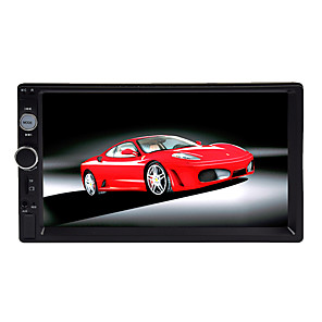 cheap Car DVD Players-btutz LED 7 inch 2 DIN All Car MP5 Player Touch Screen for universal / Volvo / Volkswagen AV out / MicroUSB Support MPEG / AVI / WMV MP3 / WMA / WAV JPG