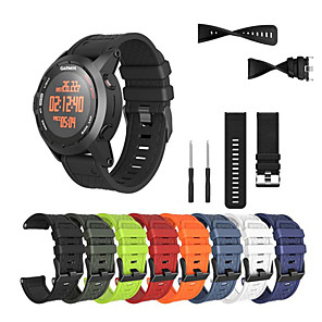 cheap Smartwatch Bands-Watch Band for Fenix 5x / Fenix 5x Plus / Fenix 3 HR Garmin Sport Band Silicone Wrist Strap