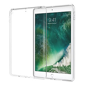 cheap iPad case-Case For Apple iPad Pro 11'' iPad New Air(2019) Ultra-thin Back Cover Transparent Soft TPU for iPad Pro 9.7'' iPad (2017)  iPad Pro 10.5 Pad Air iPad Air 2 iPad 2/3/4 iPad 2018